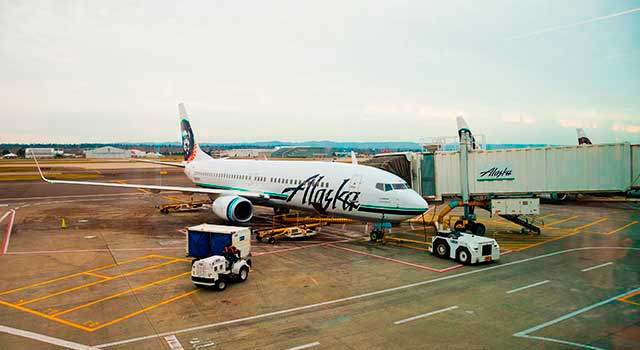 Portland Airport (IATA: PDX) is the busiest airport in Oregon, United States.